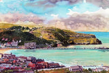 12 x Assorted Artists Greeting Cards (blank) - STDAVIDS.WALES