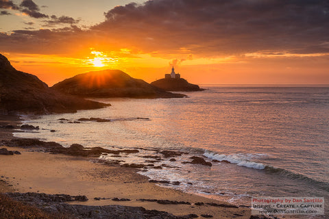 STDAVIDS.WALES:Mumbles Lighthouse - Gower:Dan Santillo Photography:Photography