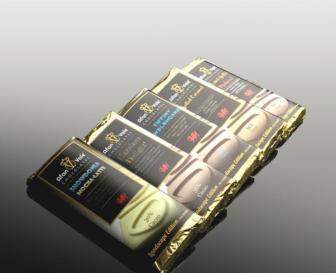 STDAVIDS.WALES:Gourmet Hand-Made Chocolate Bars  5 x 50g (B):AFAN VALE CHOCOLATES:Chocolate