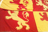 STDAVIDS.WALES:Owain Glydwr Flag - 5ft x 3ft:Red Dragon Flagmakers:Flags