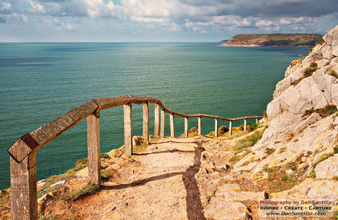 Pathway to Caswell Bay - Gower - STDAVIDS.WALES