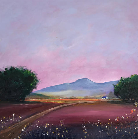Pen Y Fan Dusk - Oil on Canvas - STDAVIDS.WALES