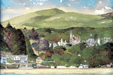 STDAVIDS.WALES:12 x Assorted Artists Greeting Cards (blank):New Artists Cards:Greetings Card