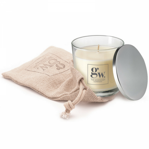 STDAVIDS.WALES:LUXURIOUS SOY CANDLE - Cannwyll Soia Moethus:THE GOODWASH Co:Candle