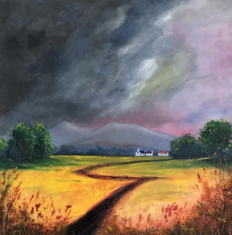 Clearing Storm Over Pen Y Fan - Oil on Canvas