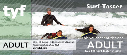 TYF Surf Taster session