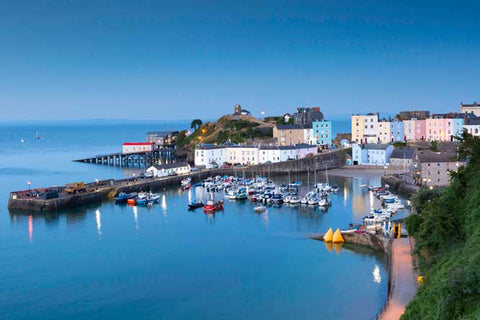 STDAVIDS.WALES:Tenby Harbour - Print & Canvas:Pembrokeshire Moments:Canvas