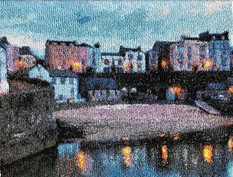 STDAVIDS.WALES:Embroidered Art - Tenby 2:DK Embroidery Designs:Art