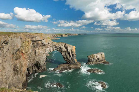STDAVIDS.WALES:Green Bridge of Wales - Print & Canvas:Pembrokeshire Moments:Canvas