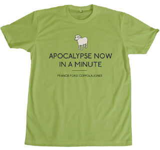 STDAVIDS.WALES:Apocalypse Now In A Minute T-shirt:I Loves the 'Diff:T shirt