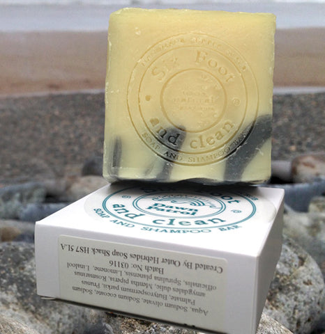 STDAVIDS.WALES:Dawn Patrol Soap Bar:Six Foot and Clean:Soap