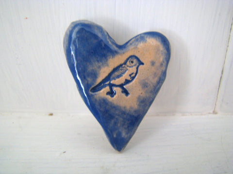 STDAVIDS.WALES:Ceramic Heart Brooch:Love and Lovelier:Accessories
