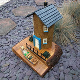 Fishermans Cottage garden ornament