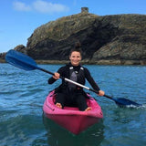 STDAVIDS.WALES:KAYAKING at Aberieddy Beach:MAN-UP UK:Adventure