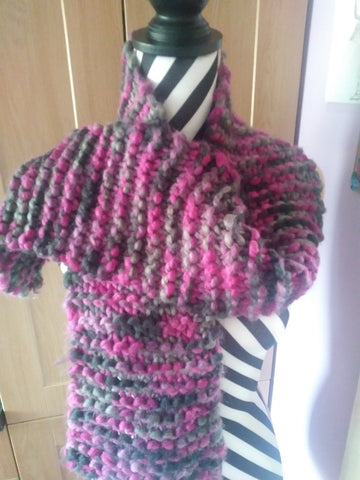 STDAVIDS.WALES:Traditional handmade Scarf:Big Mommas Knits:Knitware