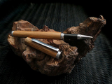 Handcrafted wooden rollerball pen