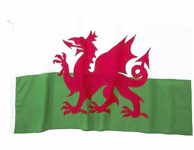 Welsh Dragon Flag - 5ft x 3ft
