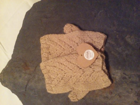 Welsh Alpaca Wrist Warmers