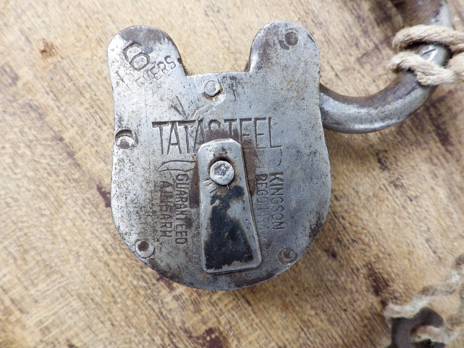 Metal Lock with Key MILL-712