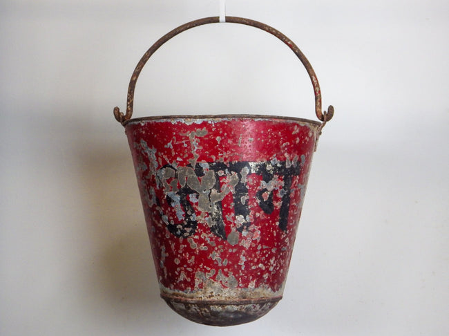Vintage Hanging Fire Buckets MILL-626