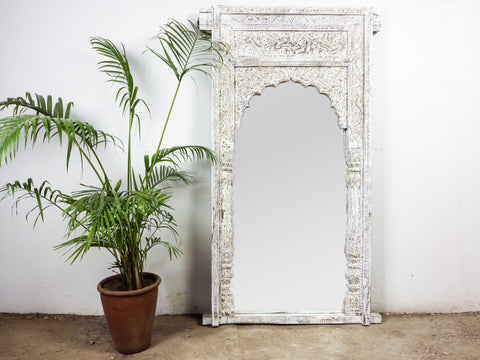 MILL-871/5 Wooden Arch Mirror 5ft