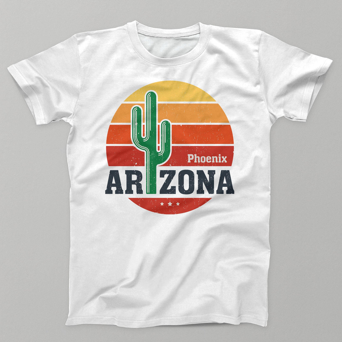 Arizona Men's/Unisex T-Shirt by DIRT & GLORY