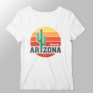 Arizona Women's T-shirt T-shirt by DIRT & GLORY