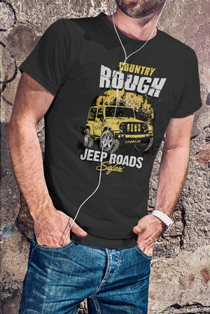 Country Rough - Men's T-shirt T-shirt by DIRT & GLORY