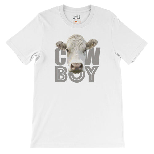 Cowboy - Men's Tee by DIRT & GLORY