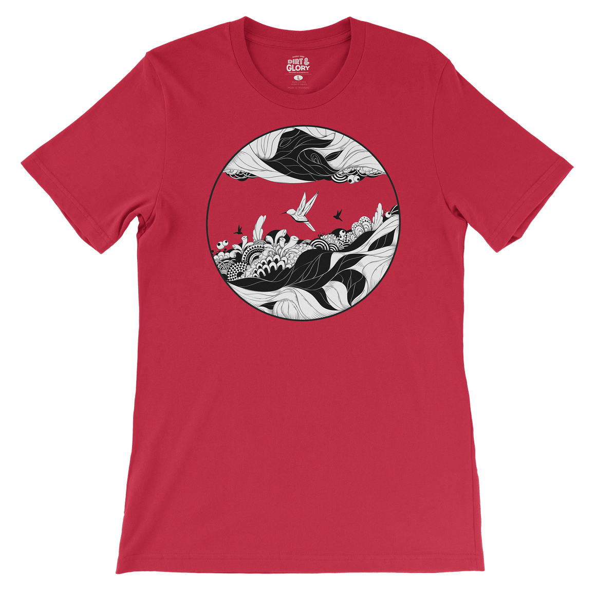 Red Fantasy - Women's Tee by DIRT & GLORY