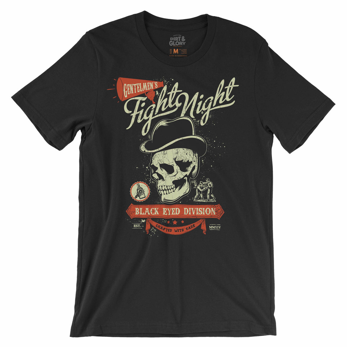 Fight Night - Men's Tee T-shirt by DIRT & GLORY
