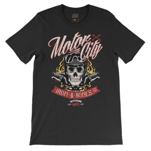 Motor City - Men's T-shirt T-shirt by DIRT & GLORY