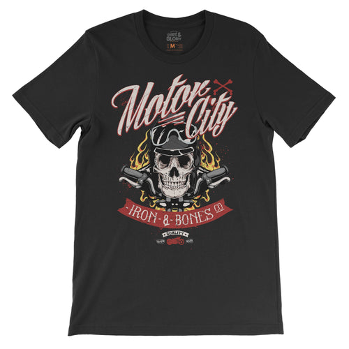 Motor City - Men's T-shirt by DIRT & GLORY