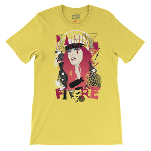 Raining Fire Women's Tee T-shirt by DIRT & GLORY