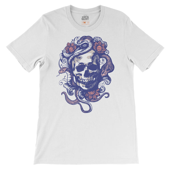 Snake Head - Women's Tee by DIRT & GLORY