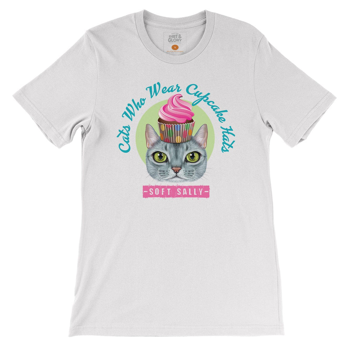 Soft Sally - Cats who wear cupcake hats by DIRT & GLORY