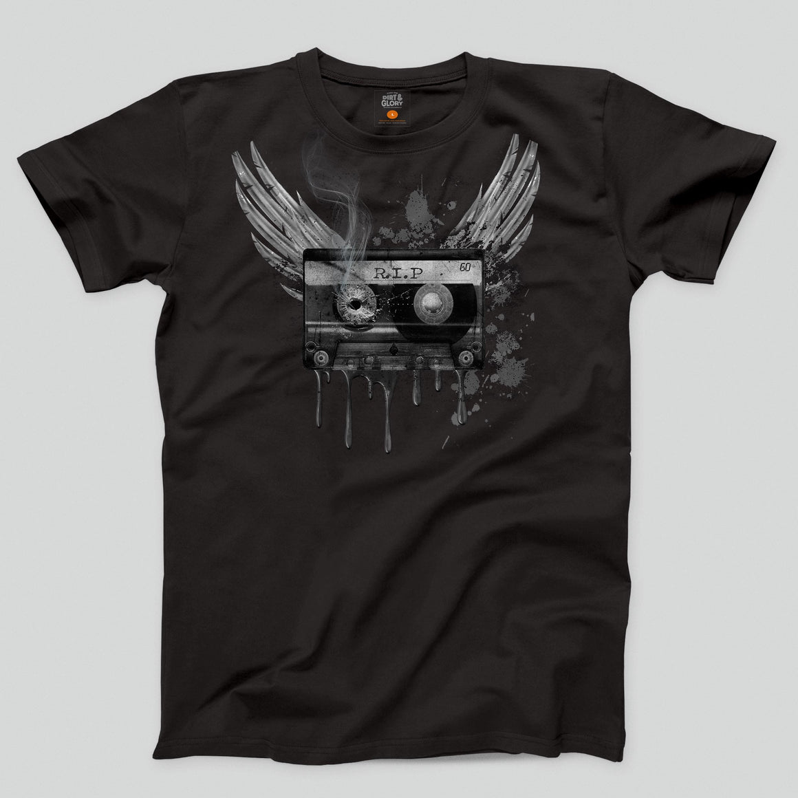 Tape Death - Men's/Unisex T-shirt T-shirt by DIRT & GLORY