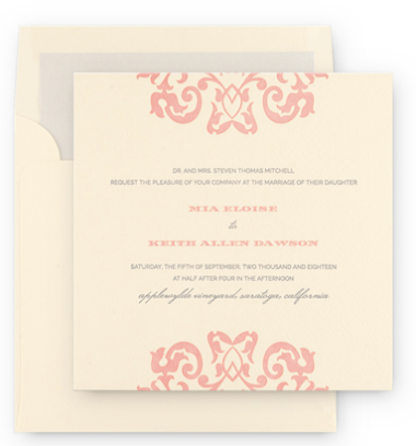 the joy blush club one of 2015 hottest wedding color trend the