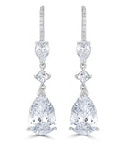 Ava Teardrop Earrings - The Persnickety Bride