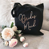 Bridal Party Canvas Totes - The Persnickety Bride