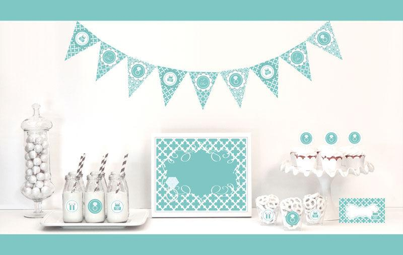Something Blue Decorations Starter Kit - The Persnickety Bride