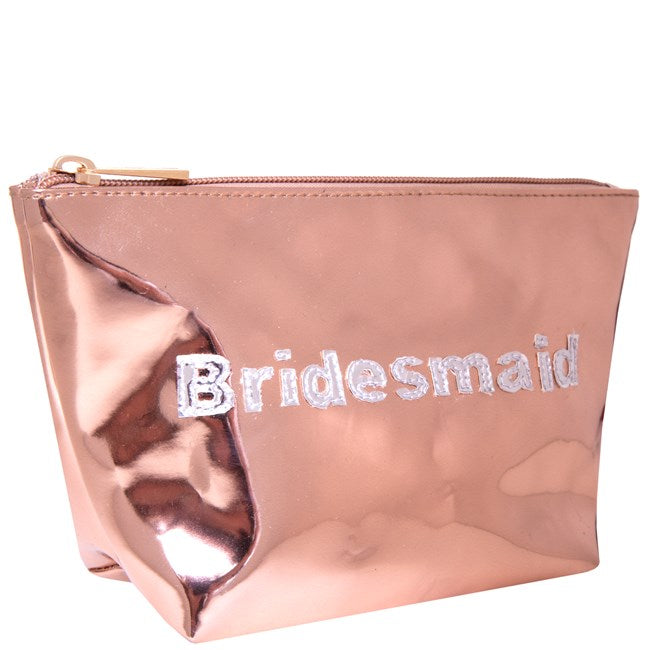 Bridesmaid Cosmetic Bag - The Persnickety Bride