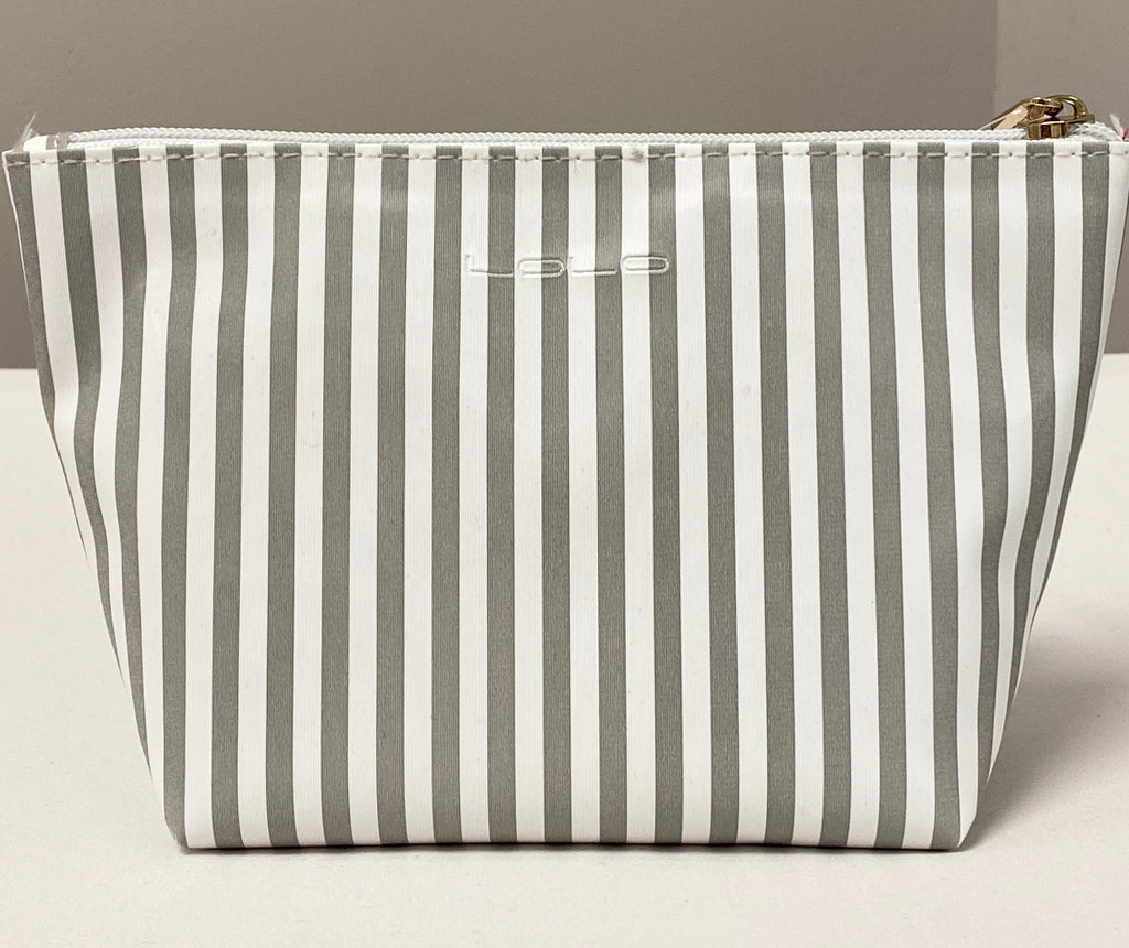 Striped Bridesmaid Cosmetic Bag