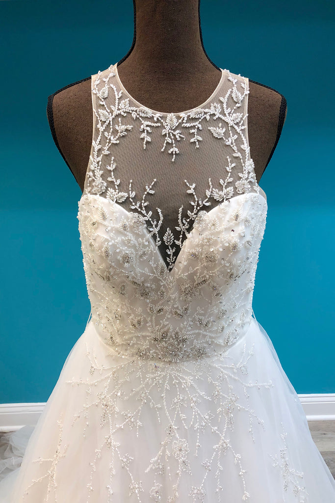 Justin Alexander Signature Style 9900 - The Persnickety Bride