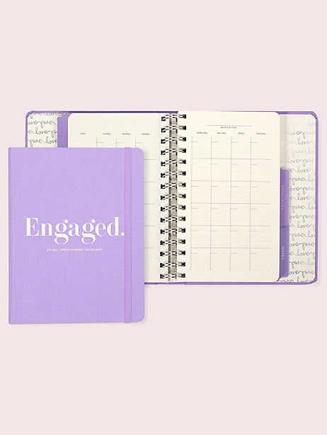 Kate Spade New York Engaged Bridal Appointment Calendar - The Persnickety Bride