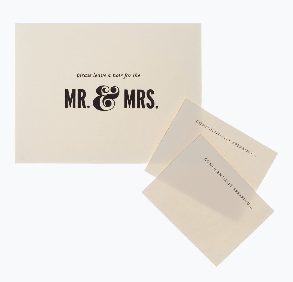 Kate Spade New York Notes to the Bride & Groom Guest Book - The Persnickety Bride