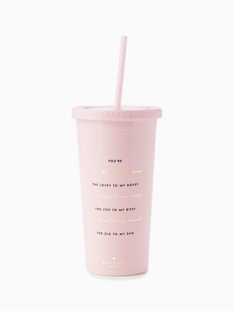 Kate Spade New York Hocus to my Pocus Tumbler - The Persnickety Bride