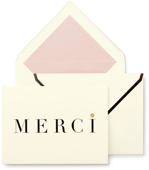 Kate Spade New York Merci Notecard Set - The Persnickety Bride