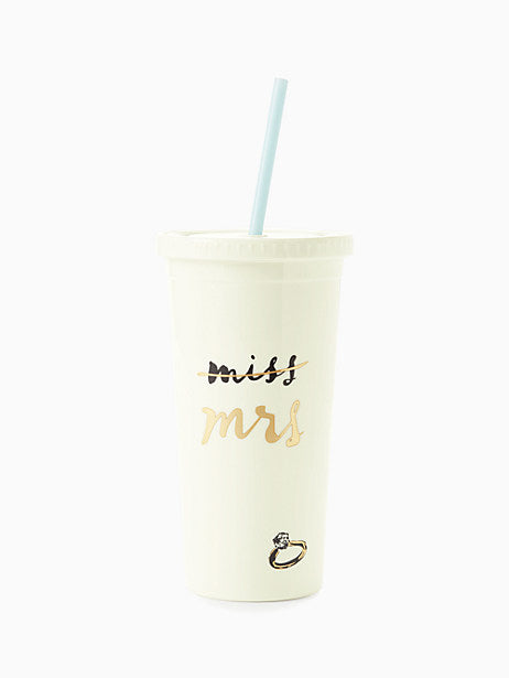 Kate Spade New York Miss to Mrs. Tumbler - The Persnickety Bride