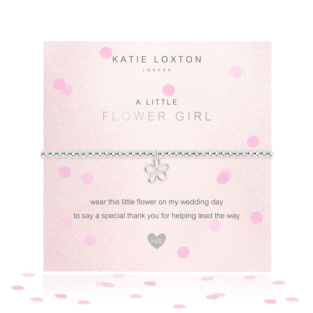 Katie Loxton FLOWER GIRL BRACELET - The Persnickety Bride